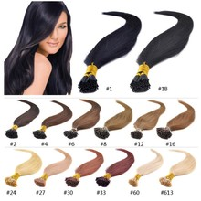 Luxury Top Quality!!! Direct Factory Wholesale Virgin Russian Hair Double Drawn Stick Tip Hair Extension for reseller