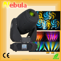 Nebula 7*12W RGBW 4 in1 beam moving head stage spot lights