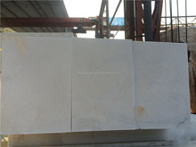 Travertine cold stone marble slab top fry ice cream white marble