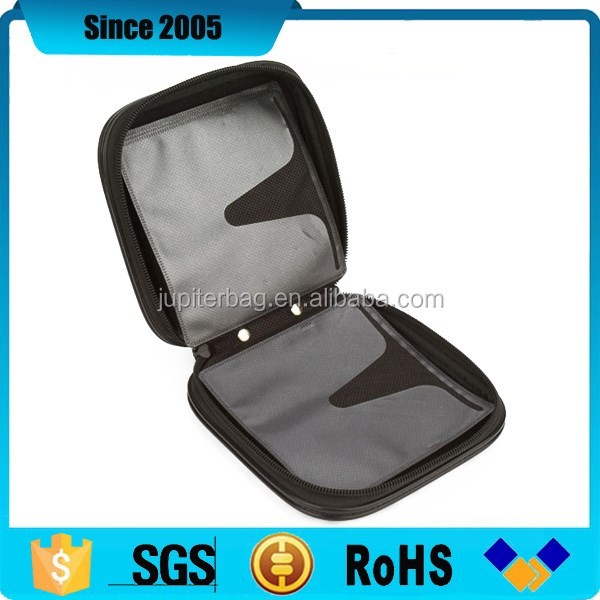 square pu eva dvd cd storage case pouch for wedding