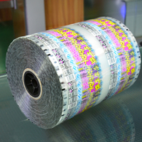 cheap nylon laminated small bag packing stock clear mylar roll film
