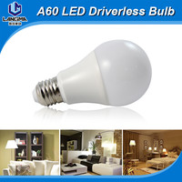 Cheap price 110v 240v 5W E27 dimmable 2700K B22 led bulb 6w