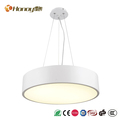 Indoor round shaped oval led pendant lighting chandelier