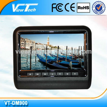 9 inch active headrest packages dvd player