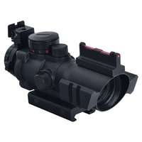 Hunting optical tactical sight 4X32 fiber optic rifle scope
