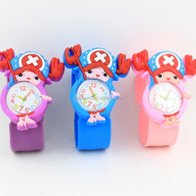 2017 China Factory Direct Sale Wholesale Cheap Fashion OEM Silicone Digital Smart Slap Wrist Watch For Kids With Custom Logo