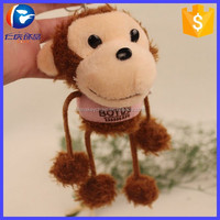 Promotion Give Away Gifts Plush Monkey Toys Keyring