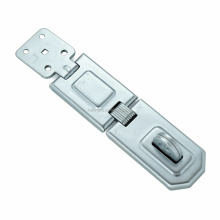 Flexible Double Hinged Hasp, Safety Hasp Staple 2 link Type, Security Door Latch