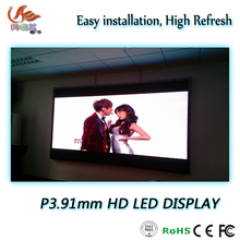 RGX new rental led display board small pitch indoor led display screen/china p3.91 led display panel smd full color
