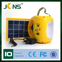 Solar led lantern with USB Radio solar powerd emergency reading lamp light with solar panel