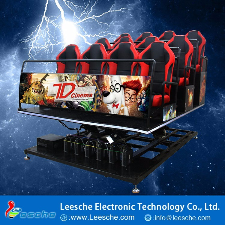 New Experience Electronic Game 7D Hologram Technology 7D Cinema Website