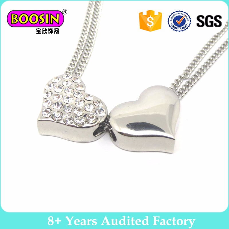 2017 Fashion Crystal Jewelry Pendant Heart Necklace Chocker necklace