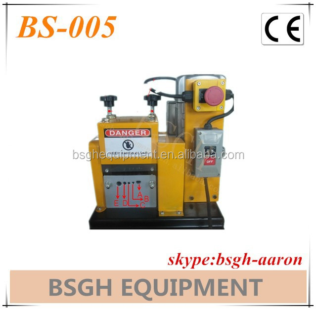 easy operation BS-005 copper line stripper recycling equipment