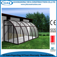 Energy-saving tempered Insulated Glass Sunroom/glass house / sun room