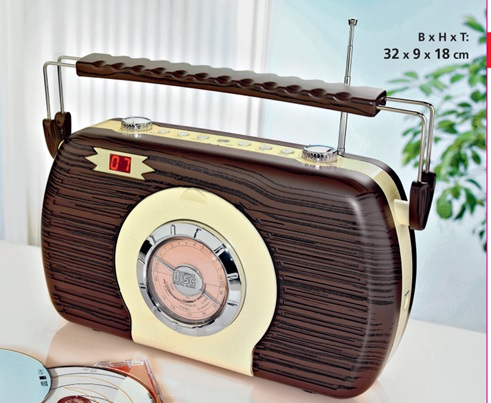 Classical CD Radio Player with MP3