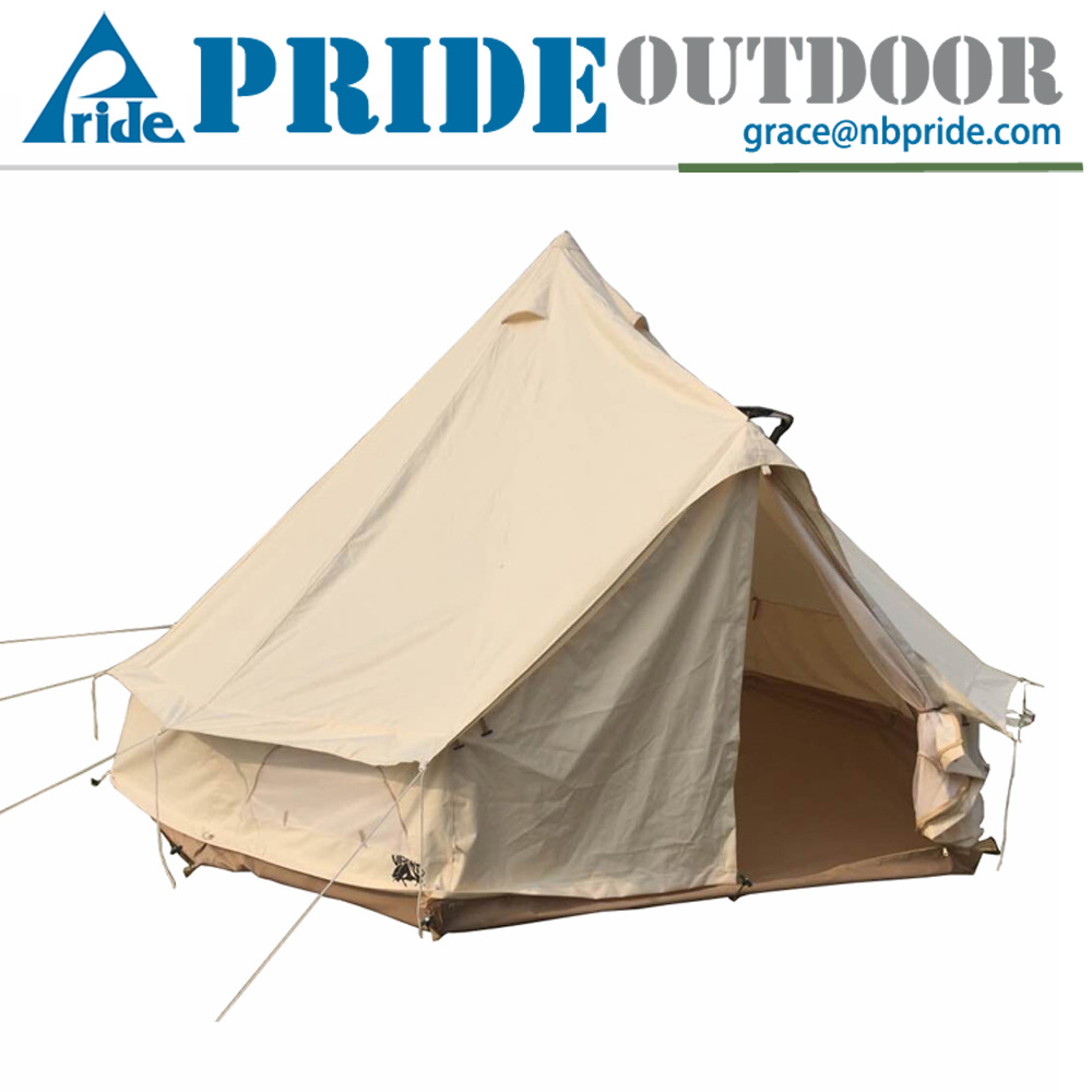 Bell Tent 5m Canvas Big Large Outdoor Folding Gazebo Bell Tent