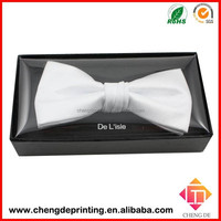 custom design high-end cardboard bow tie packaging box