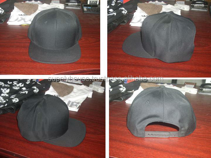 Acrylic snap back cap