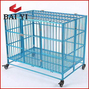 2018 Trade Assurance Top Grade Aluminum Alloy Dog Cages Folding