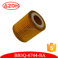 High quality Mazda engine parts replacement for Ford generator oil filter element BB3Q-6744-BA