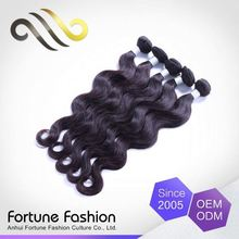Attractive And Durable E Loose Body Wave Hair Weaving Human Burgundy Extension