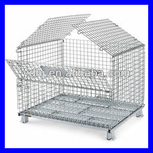 YD-K002 Wire Container Storage Cages/Wire Cages With Wheels/Warehouse Storage Wire Cage