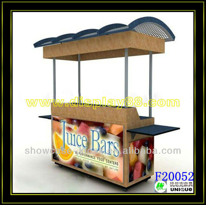 Mobile juice bar food carts for sale