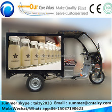 Electric car/pickup for freshing food/milk/sea food deliver vehicles