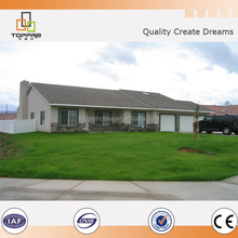 light steel affordable prefabricated house villa