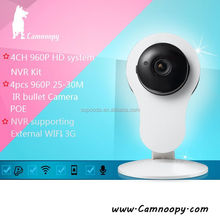 Baby monitor indoor plug and play ip camera p2p cube support IOS/Android smart phone App remote control