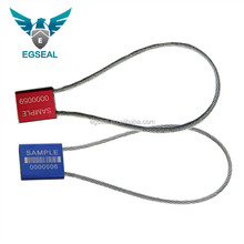 2.5mm Disposable cable seal lock tamper proof security Numbered Cable Tire seal