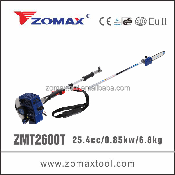 ZOMAX ZMP2600T 0.85KW telescopic chinese pole chainsaw