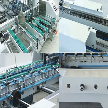 GK--780G Fruit Corrugated Box Gluing Machinery with counting device