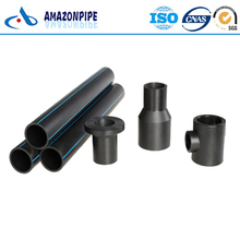 ISO4427 UV protection Fire Water underground hdpe pipe 200mm