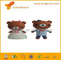 bear silicon cover USB flash drives