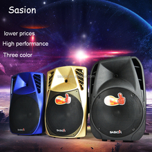 2.1 channel ABS plastic material Professional Portable audio speaker