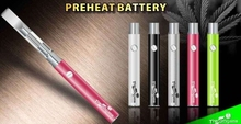 2015 new style oil vape pen 510 thread battery with preheat and adjustable voltage function for cbd oil vaporizer cartridge