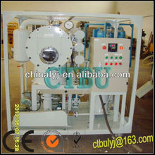 CTBU Brand Used Transformer Oil Filter Machine