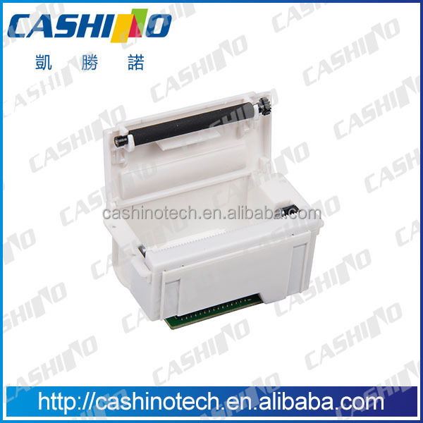 white 58mm mini receipt thermal receipt printer for taxi meter