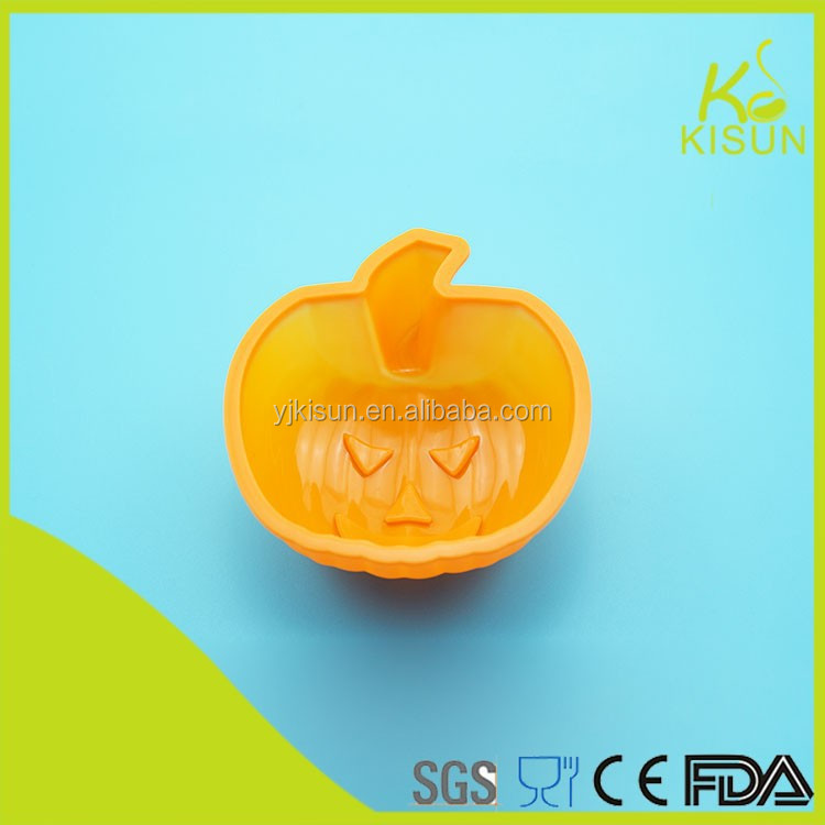 pumpkin shape silicone material cake mould