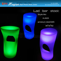 High quality led bar stool use to Party, Hotel, Home, Night club, Wedding led stool for sale