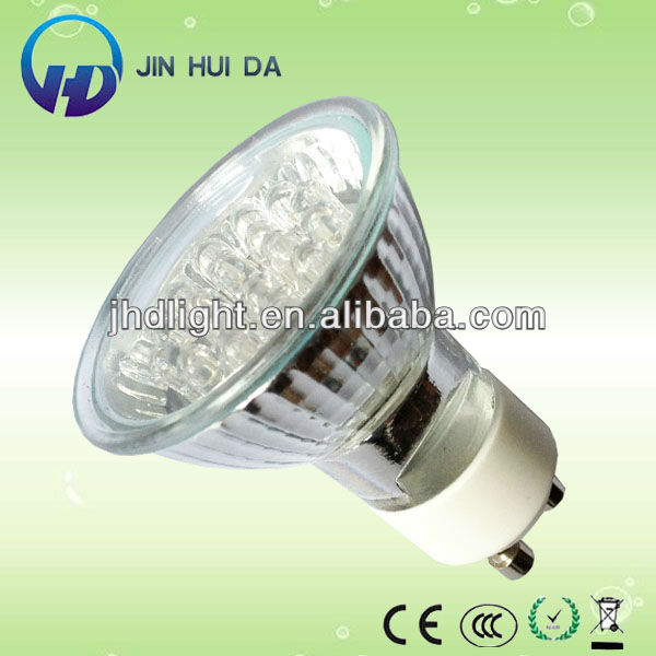 GU10 Glass Bulb Led Spotlighting