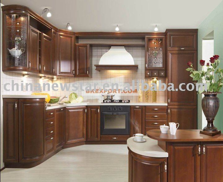 supply cherry wood cabinet,cheap kitchen cabinet