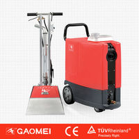 Powerful spray, high-velocity swing brush and vacuum extraction are combined into one system Carpet cleaning machine GM-3/5