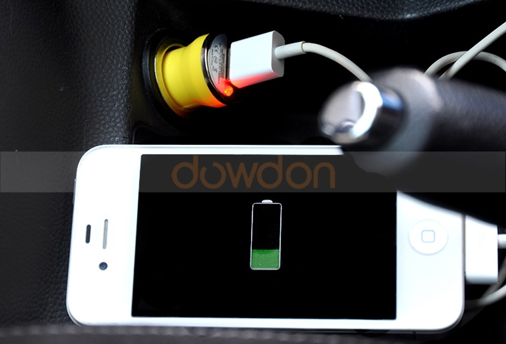 Factory Wholesale 5V 1A Mini USB Car Charger for iPhone