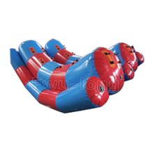 Inflatable Pool Float Super seesaw Water Beach Lake Toy Learn to Swim