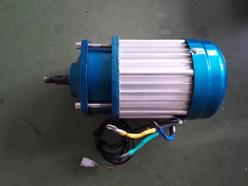 350w 24v electric motor for three wheels small vehicle or solar pump