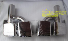 exhaust muffler tips for E63, amg exhaust tips E63