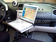 Car Laptop Notebook Tablet Holder Mount Aluminum Arm for Vehicle Van Truck bus Geep Sedan