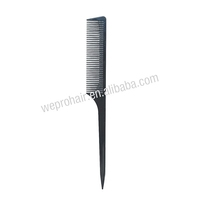 beauty plastic hair trimmer comb,tail comb,hair dye comb